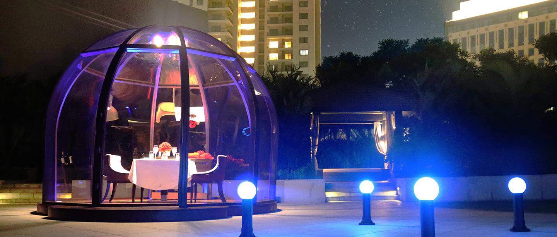 Suite Pod Dining Experience Fairmont Jakarta Fairmont Luxury Hotels Resorts