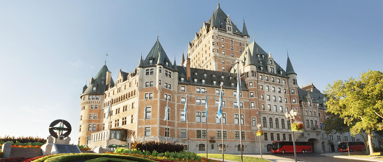 The Château Frontenac, Quebec City