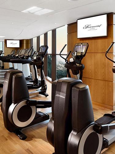 Health Club Fairmont Ajman Fairmont Luxury Hotels Resorts