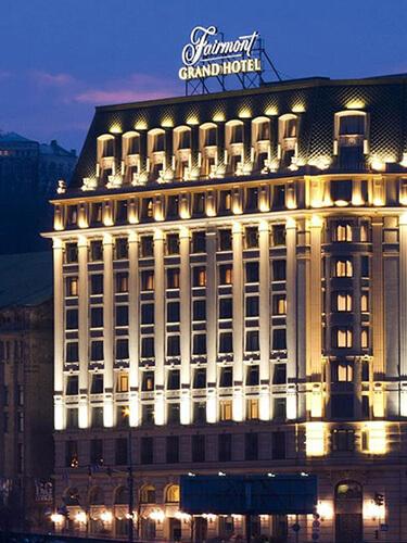 Fairmont Grand Hotel Kyiv Luxury