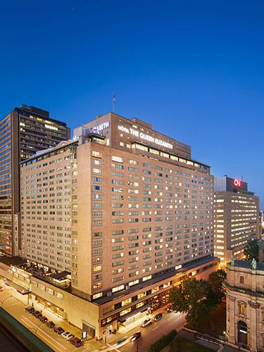 Fairmont The Queen Elizabeth Luxury Hotel In Montreal Fairmont Hotels Resorts