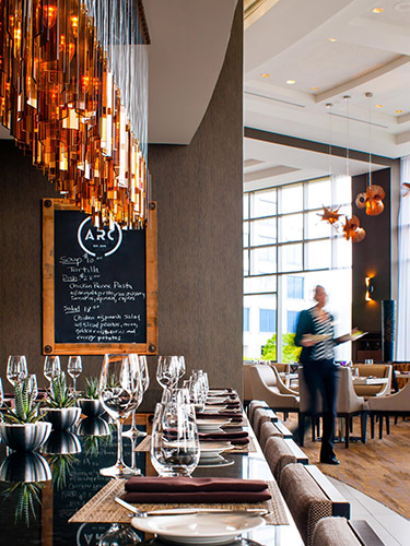 Arc Restaurant Fairmont Waterfront Fairmont Luxury Hotels Resorts